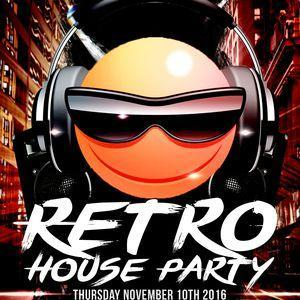 Retro House Party @ Falstaff 10/11/16