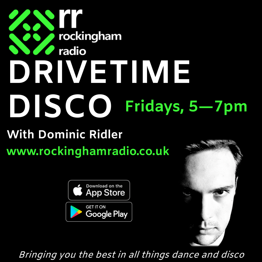 Drive Time Disco Friday 12th March 2021