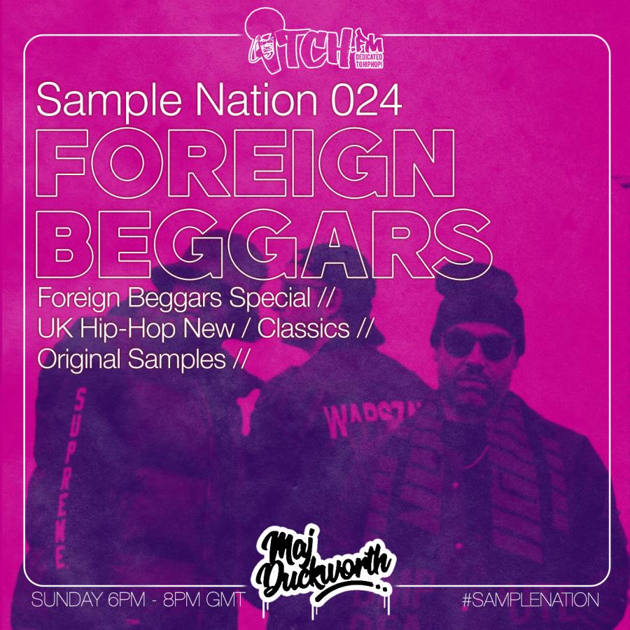 SAMPLE NATION 024 // FOREIGN BEGGARS