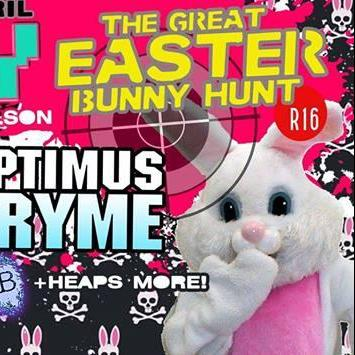 HAPPY EASTER BUNNY HUNT RAVE