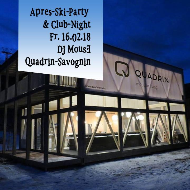 Apres-Ski-Party QUADRIN 16.02.2018