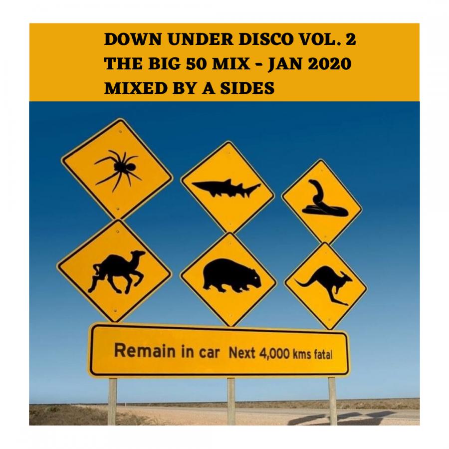 Down Under Disco 2 (The BIG 50 Mix) - Jan 2020