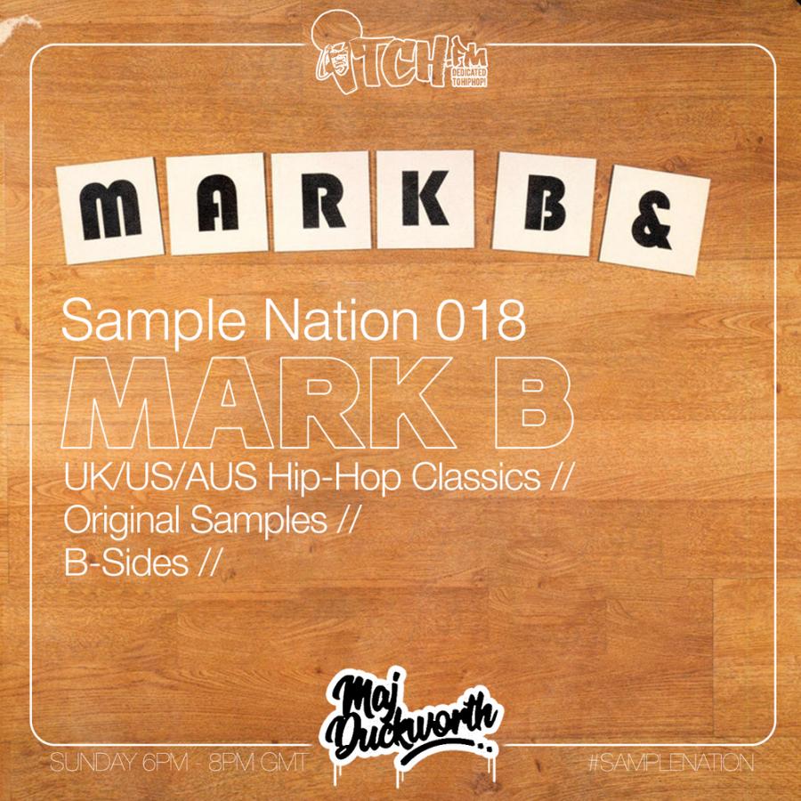 SAMPLE NATION 018 // MARK B