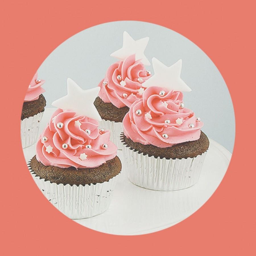Zouk Flea and Easy Sunday Deep Chocolate Brownie Make-a-Wish Cupcakes