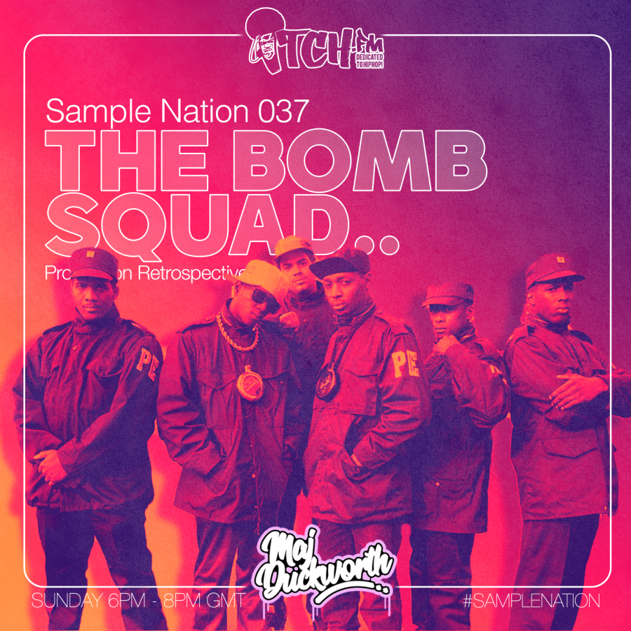 SAMPLE NATION 037 // THE BOMB SQUAD